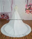 Новое платье венчания высокого качества шнурка типа