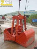 Самосхват Clamshell палубного судового крана электрический гидровлический