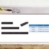 Cremagliera magnetica della lama della parete della cucina di plastica variopinta del doppio