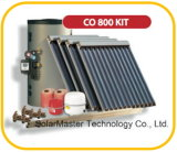 2016新しい避難させたガラス管の太陽熱湯ヒーターシステム