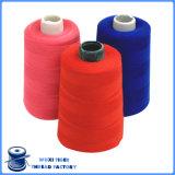 カスタム高い粘着性100%年のポリエステル20s/2縫う糸