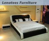 A055ヨーロッパ様式の寝室の家具のベッド