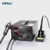Estación del retrabajo del aire caliente de YIHUA 852D+ (bomba de diafragma)
