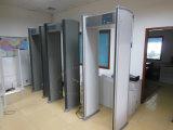 Muti-Zonas y arriba sensible de la caminata a través de la puerta del detector de metales (18 ZONAS)