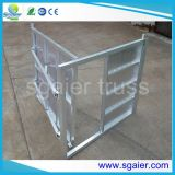 Конкурентоспособная цена Aluminium Crowd Folding Barriers System для Event Protect