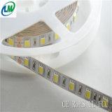 5 medidores de luz de tira flexível do diodo emissor de luz da cor branca (LM5050-WN60-W)