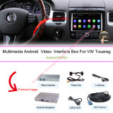 """De Multimedia van de Navigatie van de auto voor VW Volkswagen Touareg 6.5 het """" Androïde Registreertoestel van de Videocamera van het Systeem en van de Auto"""