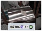 bobina segura y conveniente 8011-0 de 0.01X295m m del uso de aluminio del papel