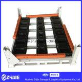 Pallet/cremagliera/contenitore d'acciaio del metallo di grande stabilità per il motore automatico del motore