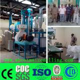 Máquina da fábrica de moagem do milho de Uganda 10t