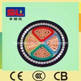 4コアArmoured Cable 120mm
