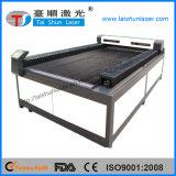 Máquina de estaca Home do laser do CO2 de matéria têxtil com sistema de transporte