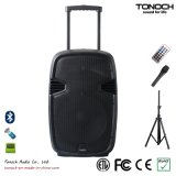 Battery를 가진 세륨 Proved 15 Inches Plastic Trolley Active Speaker