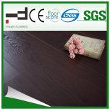 le chêne HDF de 12mm Brown imperméabilisent le plancher de stratifié de surface d'Eir
