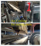 Новый мешок запечатывания дна конструкции делая машину
