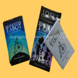Cartes grises polychromes de jeu de cartes de jeu de papier de faisceau de Tarot