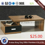 Малый бортовой деревянный журнальный стол чая $15 (HX-CT0109)