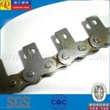 Breve catena del rullo della trasmissione del passo con i collegamenti