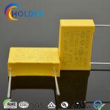 Condensador metalizado de la película del polipropileno (Clase-MKP X2) (1.0uFK 275VAC) de los supresores de interferencia