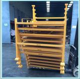 Fácil à caixa de pálete Stackable usada para o armazenamento do armazém