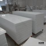 純粋で白く純粋な修正されたアクリルの固体表面