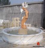Fuente de piedra del granito/de mármol de la escultura del agua del jardín para la decoración