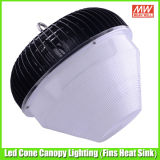 CE RoHS 100W LED Canopy Lamp per Parking Garage Lighting