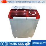 Machine à laver à la maison de baquet du plastique deux