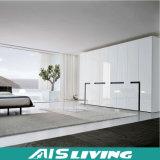 Самомоднейшие шкаф спальни лоска 4 дверей высокие/шкаф (AIS-W0145)