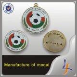 中国の製造業者のオマーンのカスタムフットボールメダル