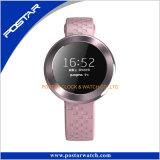 Marcas famosas de marca redonda de relógio inteligente com Swatchful Silicone Band