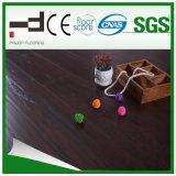 8mm 12mm 수정같은 완료 빛 호두 HDF는 쉬운 자물쇠 시스템 합판 제품 지면을 밀초를 발랐다