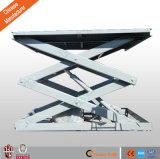 гидровлические неподвижные 10t Scissor платформа подъема товаров тяжелая