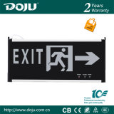 DJ-01c3 luz Emergency recargable patentada material ignífugo del producto LED con CB