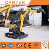 Máquina escavadora hidráulica da cauda zero de CT16-9d mini