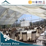 PVC Fabric 25X35m Wedding Marquee Tent de Facy Waterproof Transparent pour le jardin Party