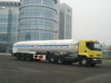 China Tanker 2015 LNG Lox Lin Semi Trailer mit ASME GB Standard