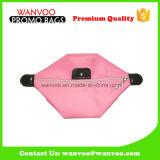 Sac de Madame Pink Nylon Fabric Cosmetic de mode avec la fermeture de tirette