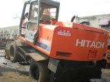 Gebruikt Graafwerktuig Hitachi Ex100wd, het Gebruikte Graafwerktuig Hitachi Ex100 van het Wiel