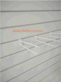 金属のSlatwallのバックパネル棚