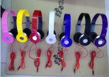 Bunter faltbarer Allein-Verbundener Kopfhörer-Kopfhörer-Großhandelskopfhörer