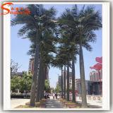Palm van de Kokosnoot van het Fiberglas van de Decoratie van de tuin de Kunstmatige