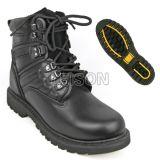 Тактические ботинки верхушкы кожи Cowhide с подошвой природного каучука главного качества