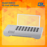 32 Порты GSM SIM с функцией свободного GSM удаленного SIM-сервера