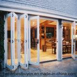 Niedriger Preis-Bi-Faltende Auslegung-Aluminium-Tür