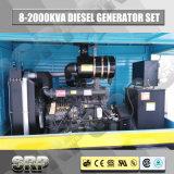 Diesel van de aanhangwagen de Mobiele Reeks van de Generator met Water Gekoelde Motor Sdg110wst