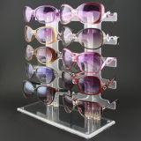 Présentoir acrylique fait sur commande de lunetterie, étalage de Sunglass