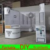 Индикация изготовленный на заказ портативной модульной будочки выставки торговой выставки Backlit