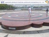 Светильник фонтана СИД нержавеющей стали сухой с задним днищем отверстия и воды