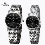 Het hoogwaardige Horloge van het Paar van het Roestvrij staal, Horloge 70028 van het Kwarts